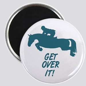 Get Over It Hunter Jumper Horse Magnet