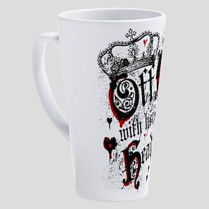Off WIth Her Head 17 oz Latte Mug
