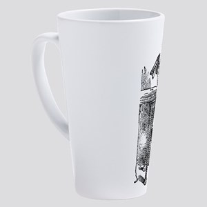 alice-drink-me_wh 17 oz Latte Mug