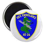 "USS Everglades (AD 24) 2.25"" Magnet (10 pack)"