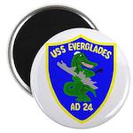 "USS Everglades (AD 24) 2.25"" Magnet (100 pack)"