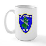 USS Everglades (AD 24) Large Mug