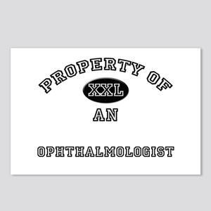 Property of an Ophthalmologist Postcards (Package