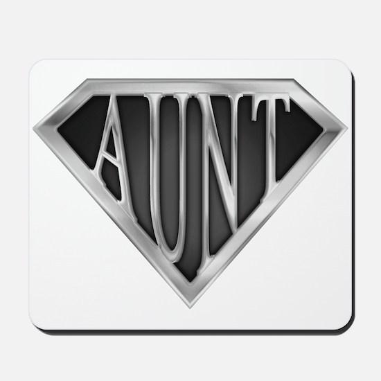 Super Aunt in Chrome Mousepad
