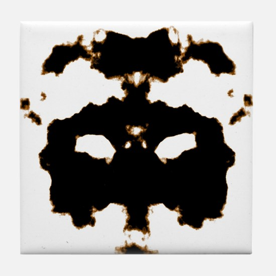 Rorschach Test Tile Coaster