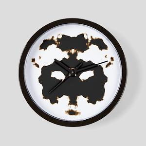 Rorschach Test Wall Clock