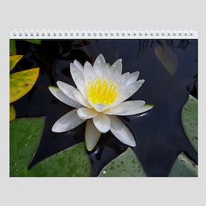 Flowers II Monthly Calendar