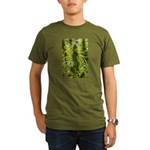 Blackberry Kush Organic Men's T-Shirt (dark)