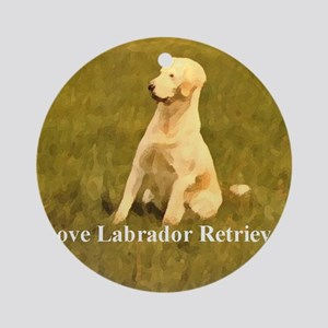 luv labs Ornament (Round)