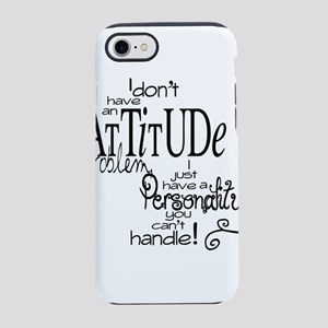 attitude prob iPhone 8/7 Tough Case