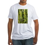 Blackberry Kush (with name) Fitted T-Shirt