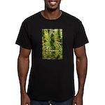 Blackberry Kush (with Men's Fitted T-Shirt (dark)