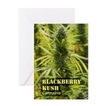 Blackberry Kush (with name) Greeting Card