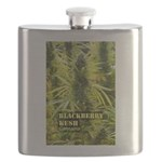 Blackberry Kush (with name) Flask