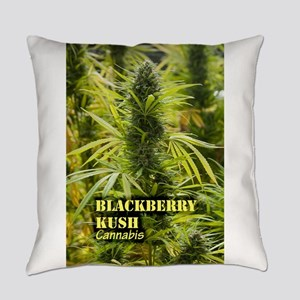 Blackberry Kush (with name) Everyday Pillow