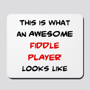 awesome fiddle player Mousepad