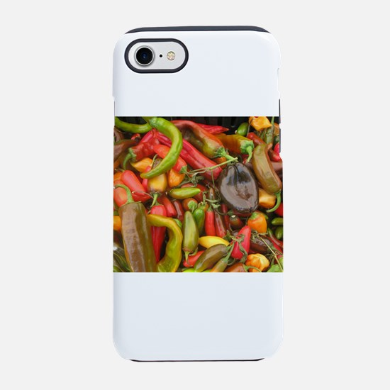many different peppers at a iPhone 8/7 Tough Case