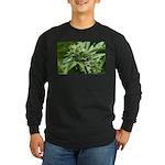 Pineapple Long Sleeve Dark T-Shirt