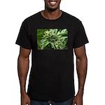 Pineapple Men's Fitted T-Shirt (dark)