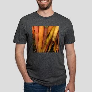 an assortment of long organic carrots in c T-Shirt