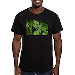 Grapefruit Kush Men's Fitted T-Shirt (dark)