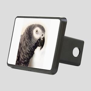 African Grey Parrot Rectangular Hitch Cover