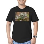 Underchunk (with name) Men's Fitted T-Shirt (dark)