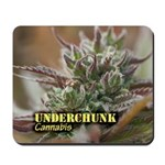 Underchunk (with name) Mousepad