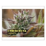 Underchunk (with name) Small Poster