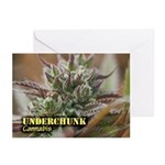 Underchunk (with name) Greeting Cards (Pk of 10)