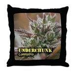 Underchunk (with name) Throw Pillow