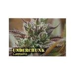 Underchunk (with name) Rectangle Magnet (10 pack)