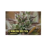 Underchunk (with name) Rectangle Magnet (100 pack)