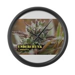 Underchunk (with name) Large Wall Clock