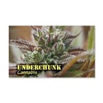 Underchunk (with name) 20x12 Wall Decal