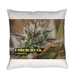 Underchunk (with name) Everyday Pillow