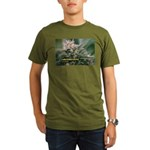 Cornerstone (with nam Organic Men's T-Shirt (dark)