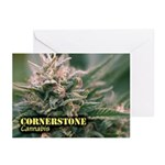 Cornerstone (with name) Greeting Cards (Pk of 10)