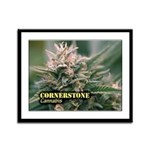 Cornerstone (with name) Framed Panel Print