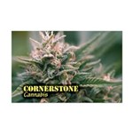 Cornerstone (with name) Mini Poster Print