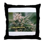 Cornerstone (with name) Throw Pillow