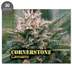 Cornerstone (with name) Puzzle
