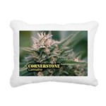 Cornerstone (with name) Rectangular Canvas Pillow