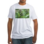 White Russian Fitted T-Shirt