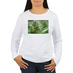 White Russian (with na Women's Long Sleeve T-Shirt