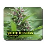 White Russian (with name) Mousepad