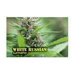 White Russian (with name) Mini Poster Print