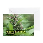 White Russian (with name) Greeting Card