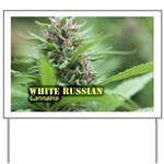 White Russian (with name) Yard Sign