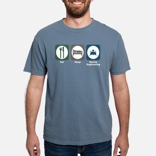 Eat Sleep Marine Engineering Women's Dark T-Shirt